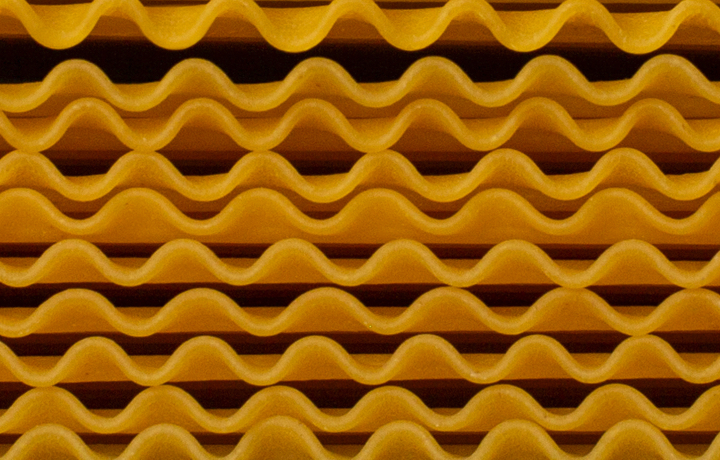 lasagna noodle background